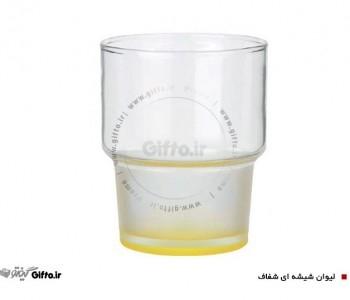لیوان شیشه ای شفاف 995