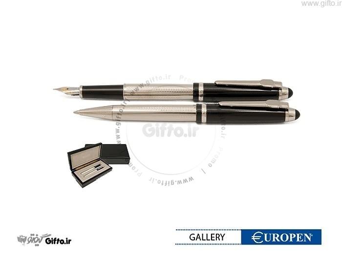 قلم نیمه مشکی کروم Gallery یوروپن