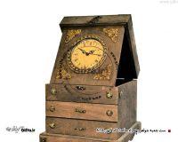 ست جعبه چوبی نفیس جواهر کد کهن