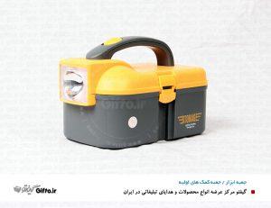 جعبه ابزار چراغ دار 970 هدیه تبلیغاتی جدید جعبه کمک های اولیه
