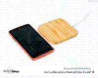 زیر لیوانی شارژر دار چوبی وایرلس 962 -هدیه تبلیغاتی جدید
