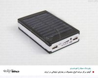 پاوربانک خورشیدی P030 هدیه تبلیغاتی خاص پاوربانک سولار