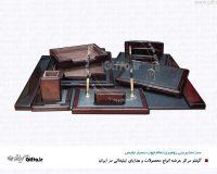 ست رومیزی نفیس چوبی Desk set هدیه تبلیغاتی نفیس