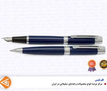 قلم 300شیفر سورمه ای گیره استیل-هدایای تبلیغاتی