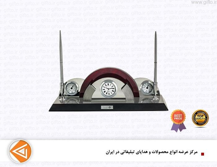 ساعت رومیزی مدیریتی تبلیغاتی 5567