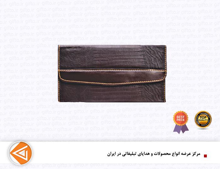 کیف مدارک چرمی تبلیغاتی L101